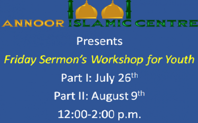 Youth Friday Sermon Workshop