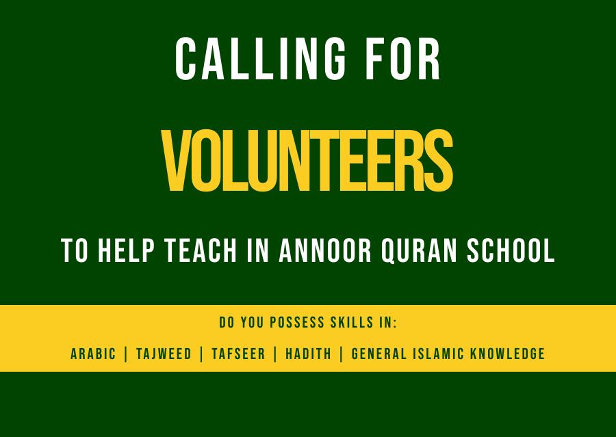 Education Volunteers