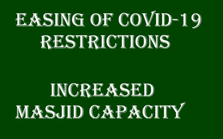 Easing Of Covid-19 Restrictions 2021-05-28