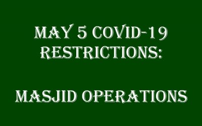 May 5 Covid-19 Restrictions