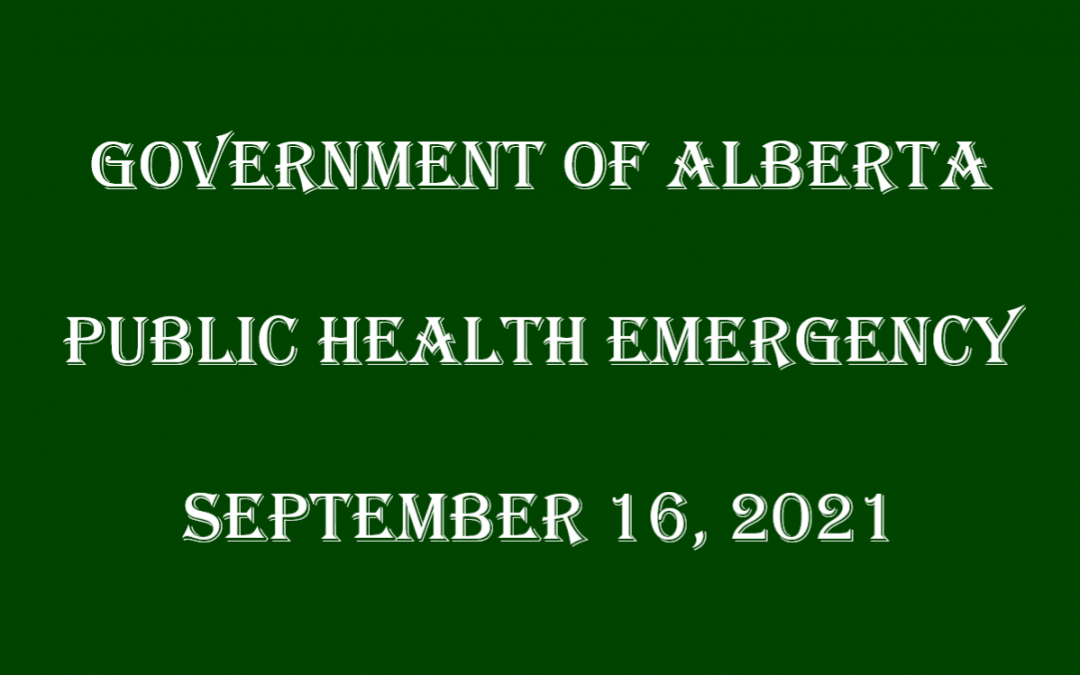 Health Emergency 2021-09-16